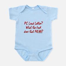 Office Space PC Load Letter Infant Bodysuit