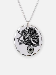 Mexican Football Eagle Necklace