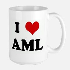 I Love AML Mugs