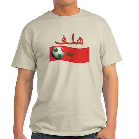 TEAM MOROCCO ARABIC GOAL Light T-Shirt