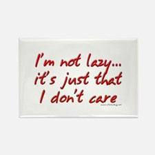 Office Space I'm Not Lazy Rectangle Magnet