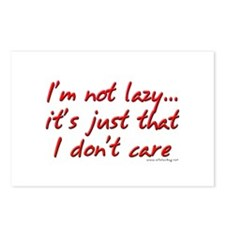 Office Space I'm Not Lazy Postcards (Package of 8)