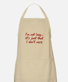 Office Space I'm Not Lazy BBQ Apron