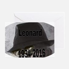 Cute Leonard Greeting Card