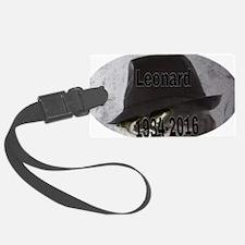 Cute Leonard Luggage Tag