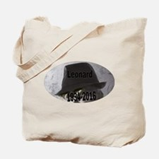 Leonard 1934-2016 Tote Bag