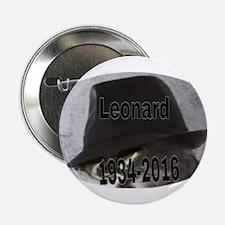 "Leonard 1934-2016 2.25"" Button"