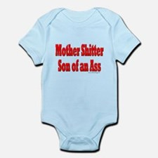 Office Space Mother Shitter Infant Bodysuit