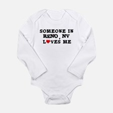 Someone in Reno Infant Creeper Body Suit