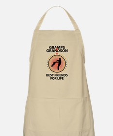 Gramps And Grandson Best Friends For Life Apron