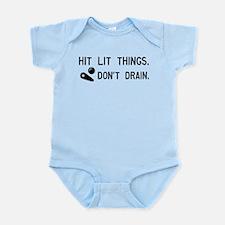 Pinball Don't Drain Humorous Infant Bodysuit