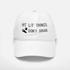 Pinball Don't Drain Humorous Baseball Baseball Cap