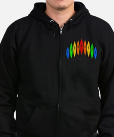 Rainbow of Kayak Sweatshirt