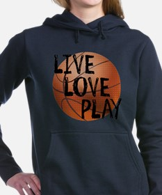 Live, Love, Play - Basketball Sweatshirt