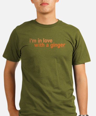 I'm in Love with a Ginger T-Shirt