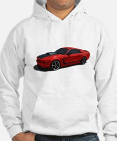 Red Ford Mustang Sweatshirt