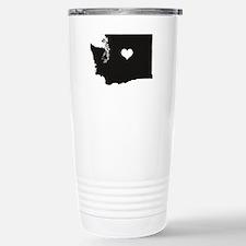 Cute Washington Travel Mug