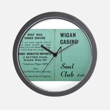 wigan casino NORTHERN SOUL Wall Clock