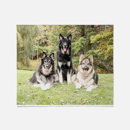 Kurek Trio 2016 Throw Blanket