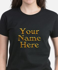 Custom Personalized Gifts Tee