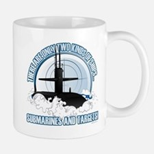 Submarines And Targets Mugs