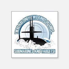 Submarines And Targets Sticker