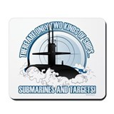 Navy Mouse Pads