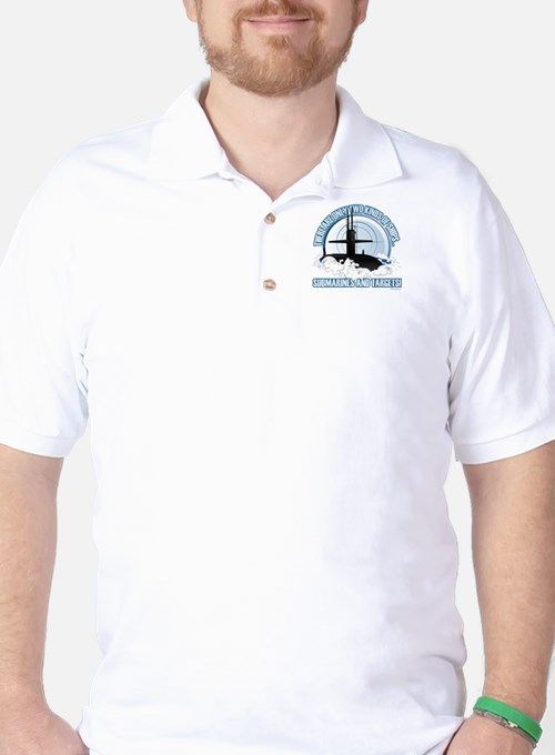 Submarines And Targets Golf Shirt