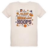 Girls basketball Organic Kids T-Shirt