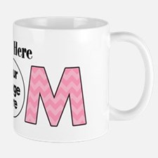 Personalized Mom Pink Mug