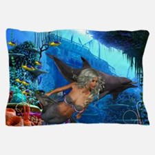 Cute Mermaid Pillow Case