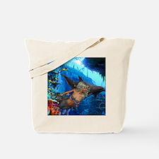 Cute Tropical aquarium Tote Bag