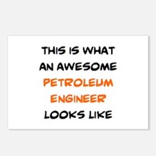 awesome petroleum enginee Postcards (Package of 8)