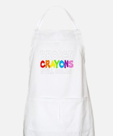 BROKEN CRAYONS STILL COLOR Apron