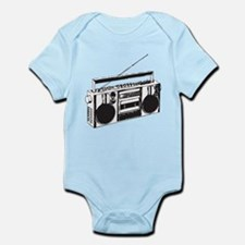 Cute Boombox Infant Bodysuit