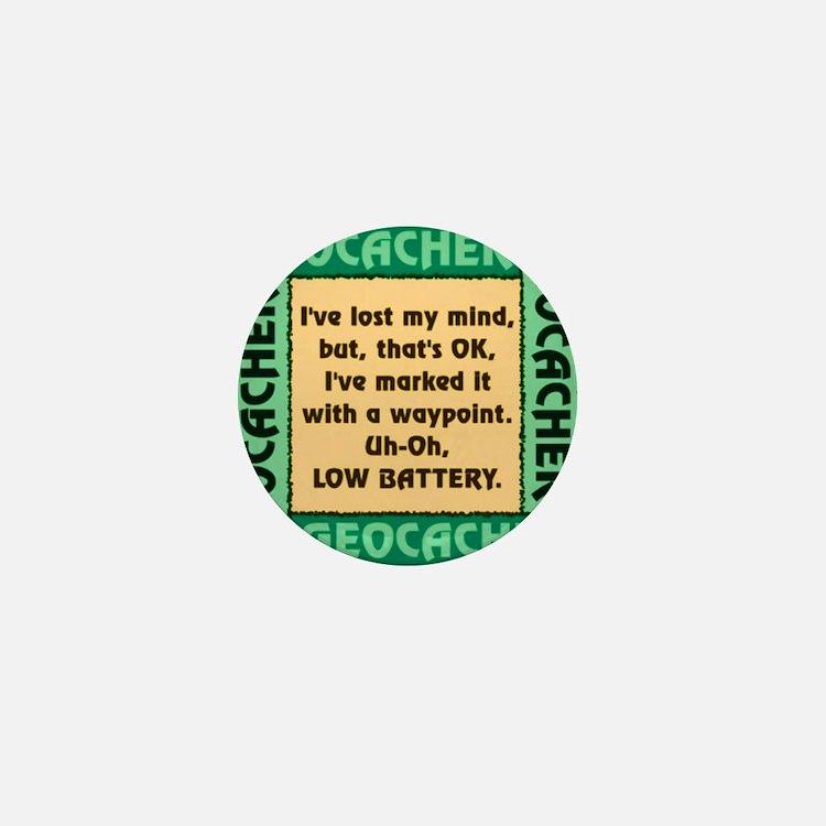 GEOCACHER Mini Button (100 pack)