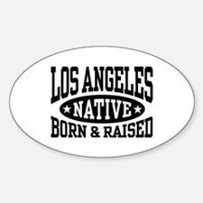 Los Angeles Native Sticker (Oval)