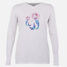 Mom and Daughter Tribal Mermaid T-Shirt