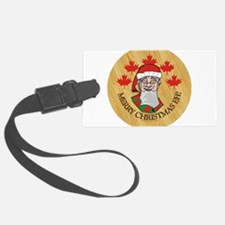 Merry Christmas Eh Luggage Tag