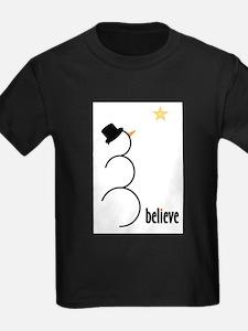 Believe Ash Grey T-Shirt