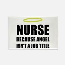 Nurse Angel Job Title Magnets