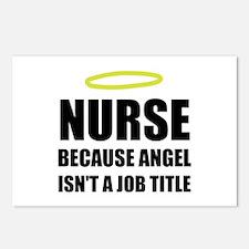 Nurse Angel Job Title Postcards (Package of 8)