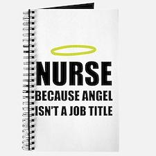 Nurse Angel Job Title Journal