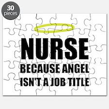 Nurse Angel Job Title Puzzle