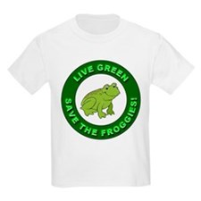 Live Green Environment (Front) T-Shirt
