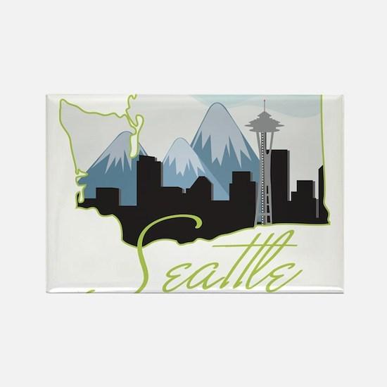 Seatle Washington Magnets