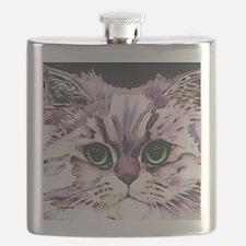 Unique Cat face Flask