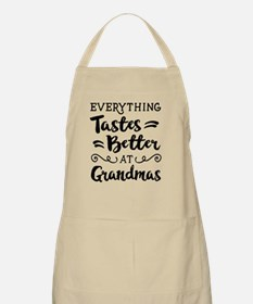 Everything Tastes Better at Grandmas Apron