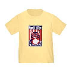 Obey the Maine Coon Cat! Baby/T