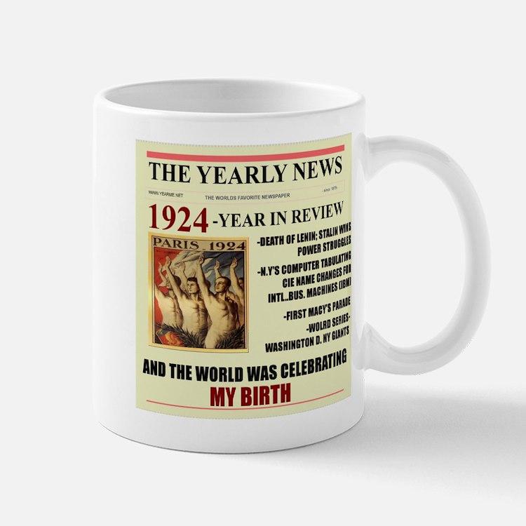 born in 1924 birthday gift Mugs